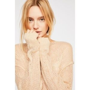 Free People Mohair Oversized Sweater